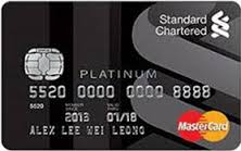 Standard Chartered Manhatan Credit Card