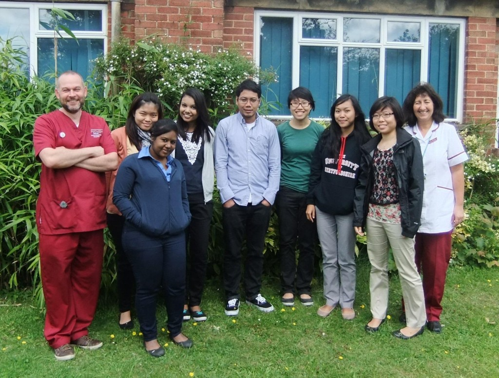 Parkway radiography students