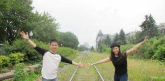 travelling together