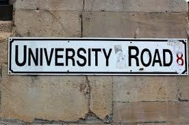 university road