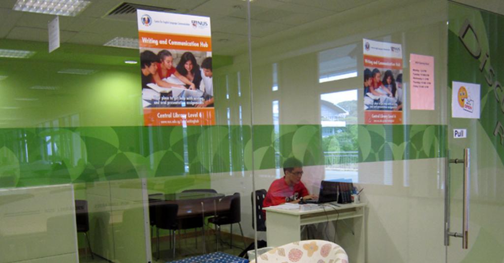 Visit NUS writing centers