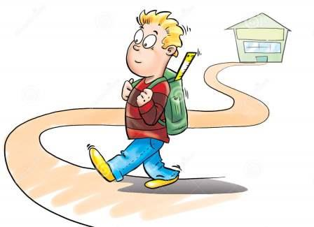 Photo http://www.dreamstime.com/royalty-free-stock-photos-kid-going-to-school-image9325738