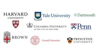 Top universities and courses