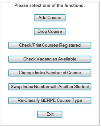 ADD COURSE