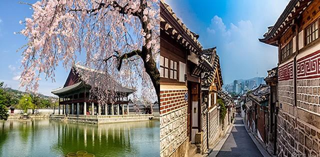 Bukchon Hanok Village- Gyeongbokgung palace