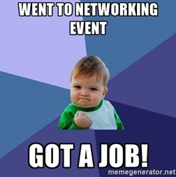 went to networking