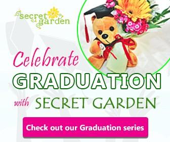 Graduation Flower for Graduate