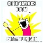 taylors room