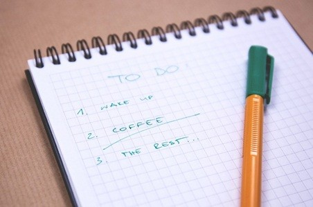 A very common to-do list amongst working individuals…