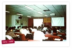 In 1987, PSB Academy's predecessor (the Institute for Productivity Training) held classes in a 22 storey building, with what was Singapore's most comprehensive training facilities! (Photo Credits: PSB Academy)