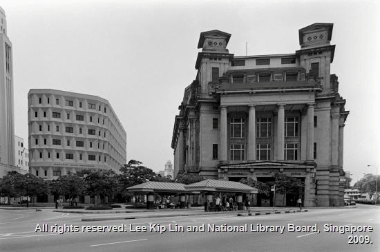 The former Fullerton Building. (Photo Credits: NLB and Lee Kip Lin)