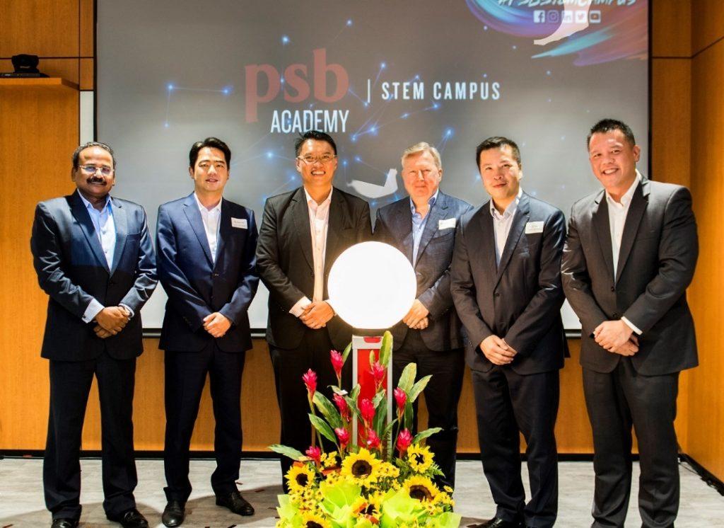 PSB Academy CEO Derrick Chang